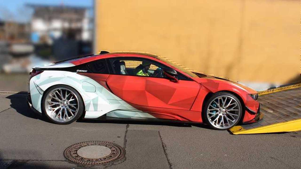 Lefoglalt BMW i8