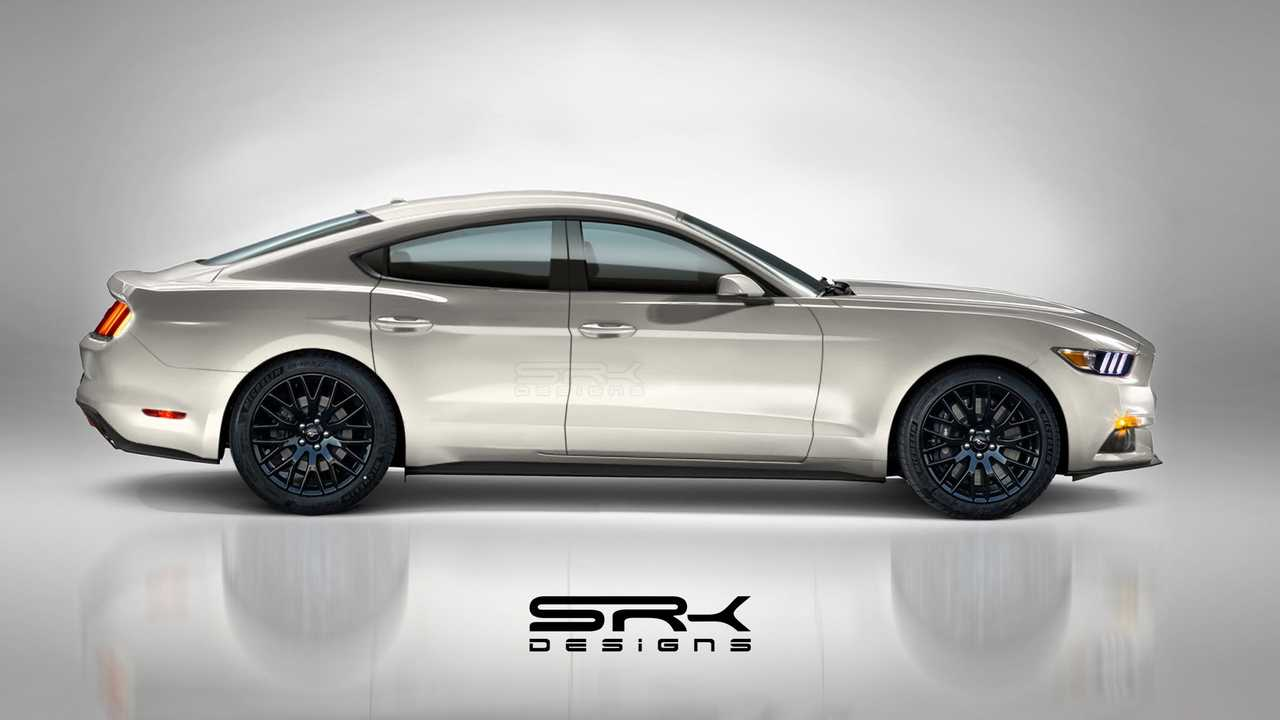 Ford Mustang Four Door Fan Rendering Could Be The Falcon S Return