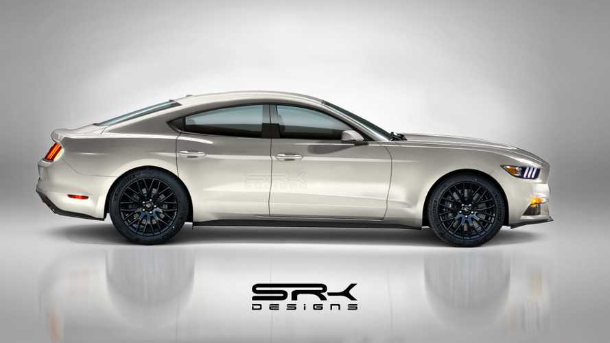 Ford Mustang Four-Door Fan Rendering Could Be The Falcon's Return