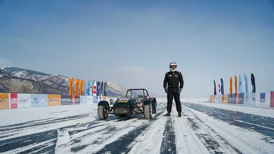 Дни скорости на льду Байкала