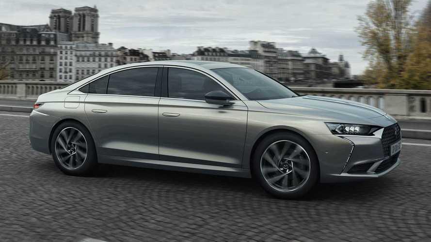 Французы из DS представили большой роскошный седан