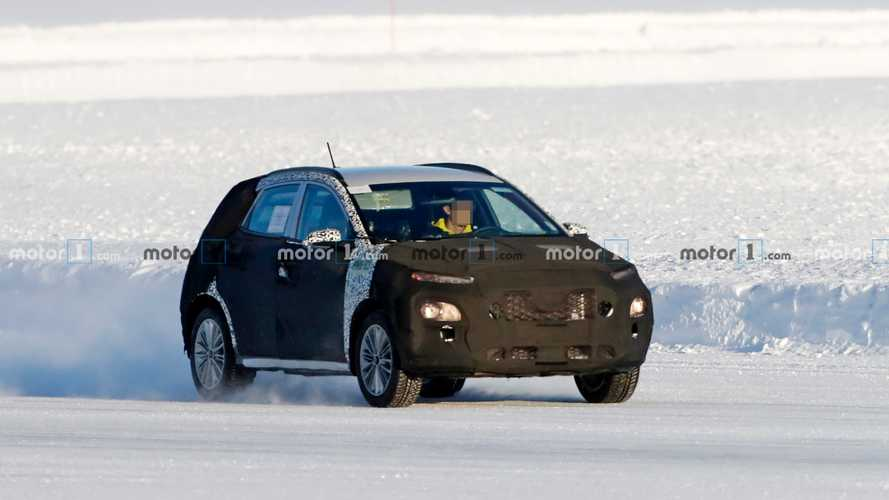 Hyundai Kona facelift spy photos