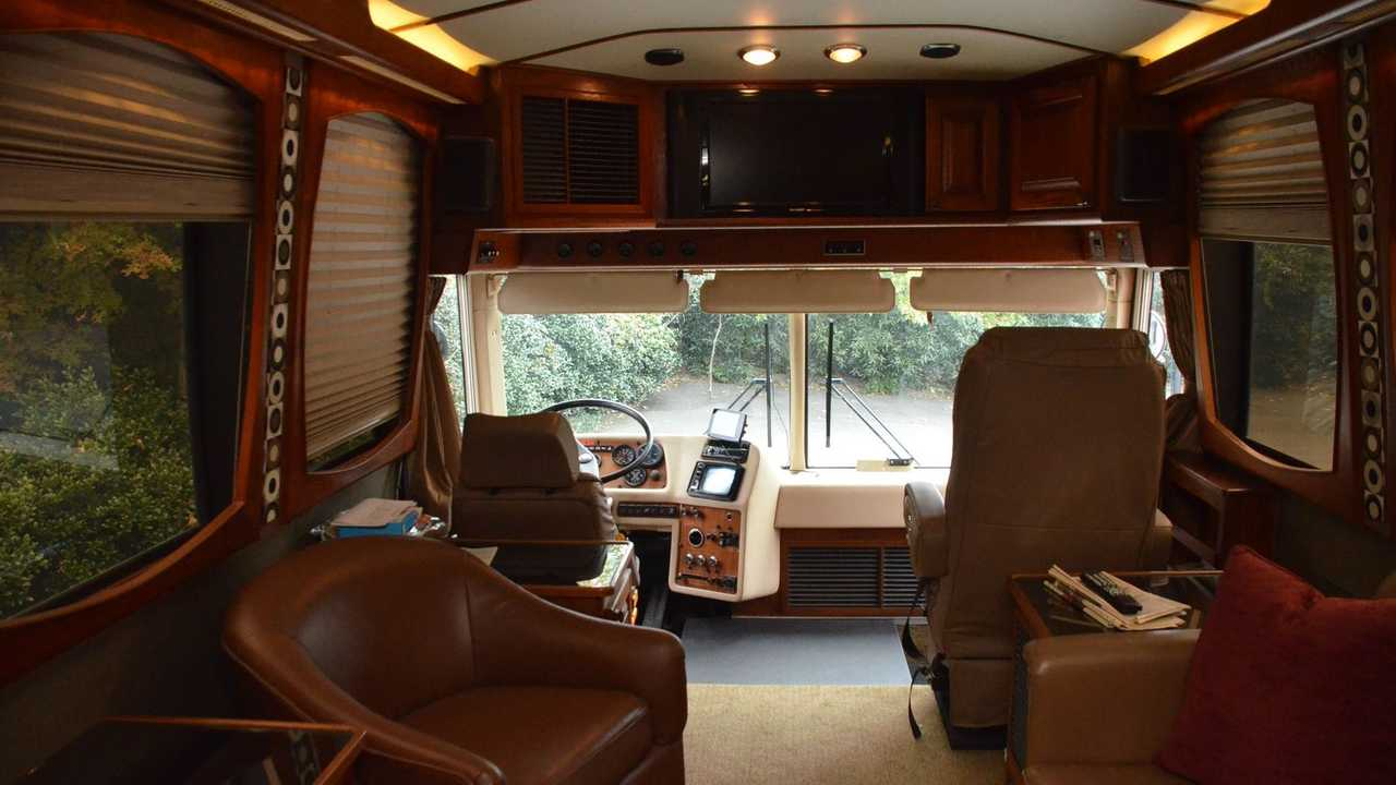 Travel In Style In This Prevost Liberty Coach Brougham Edition
