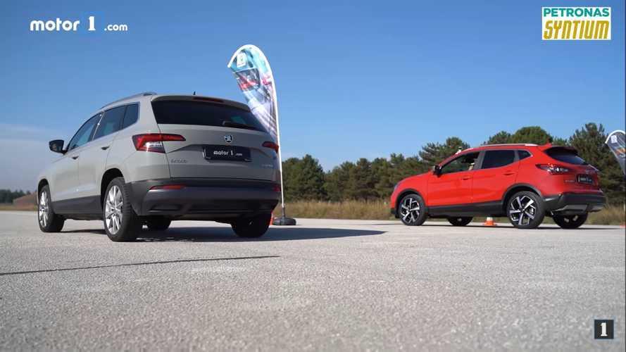 We Drag Race The Skoda Karoq Against A Nissan Qashqai