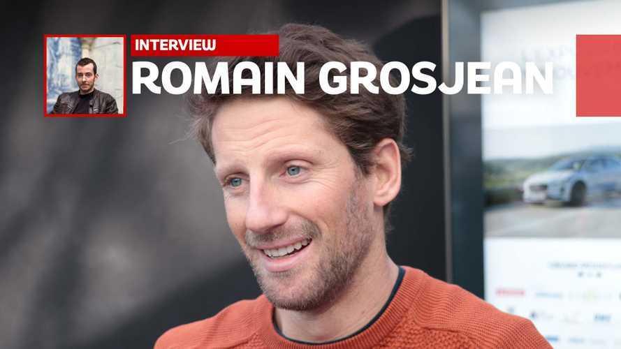 """Romain Grosjean : """"Les aides à la conduite, ce n'est presque plus de la conduite, non ?"""""""
