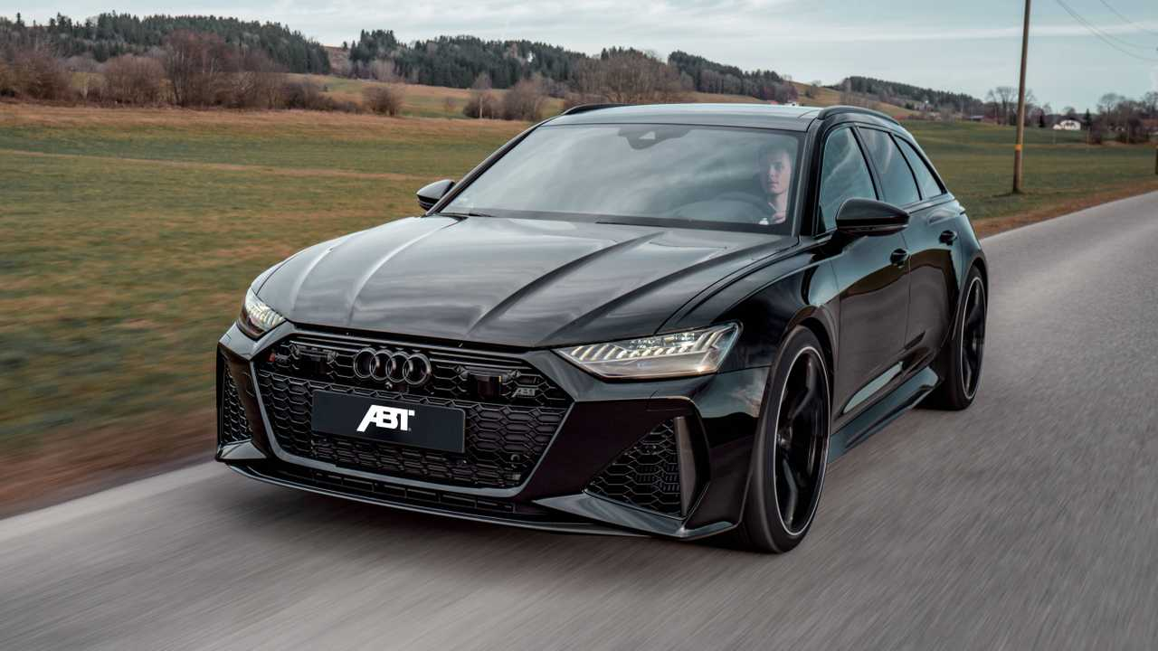2020 Audi RS6 Avant By ABT Is A Sinister 690-HP Super Wagon
