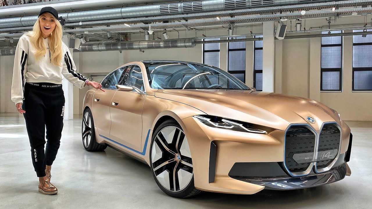 BMW Concept i4 bemutató videó vezető kép