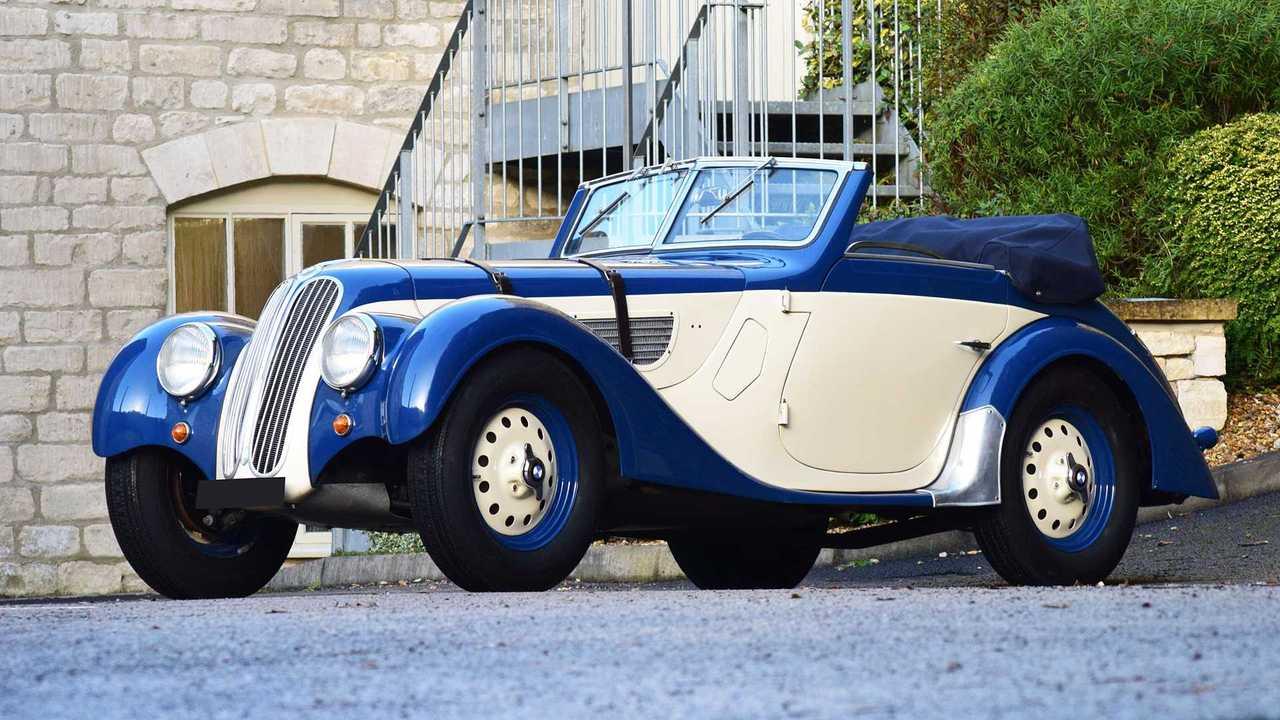 BMW 328 Cabriolet (1938) - 500.640 euros