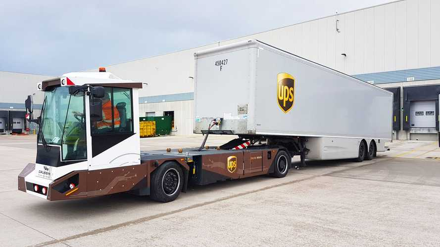 UPS To Test Gaussin All-Electric And Autonomous-Enabled 'Shifter'