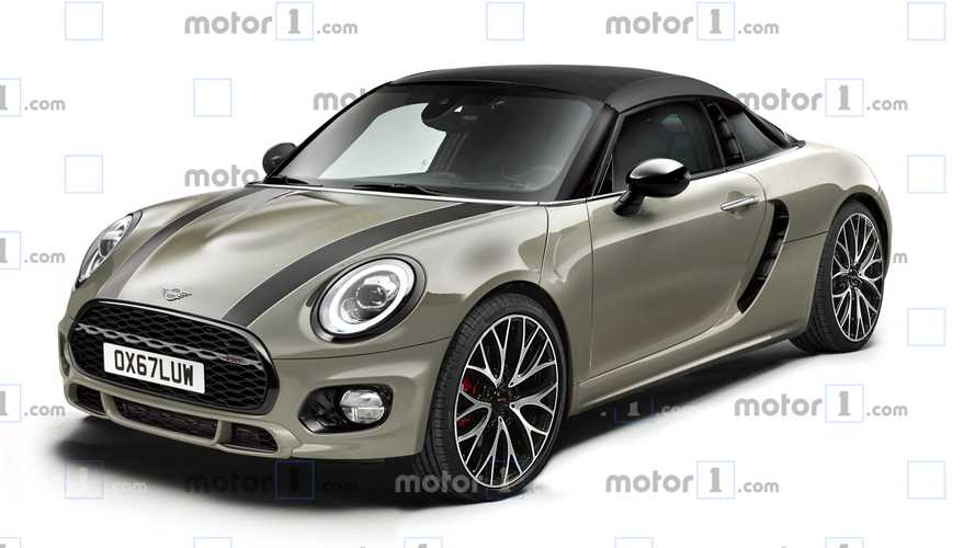 Mid-Engine Mini Sports Car Rendering