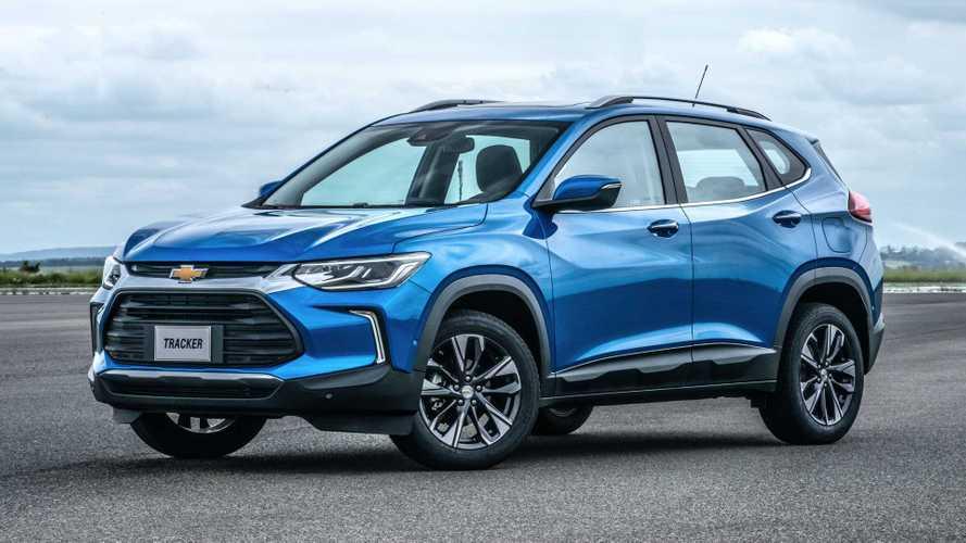 Novo Tracker já lidera vendas de SUVs na 1ª quinzena de abril