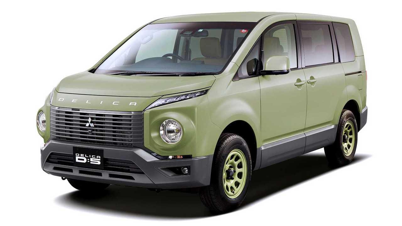 2019 - [Mitsubishi] Delica D:5 Mitsubishi-delica-d-5-by-terry-ito