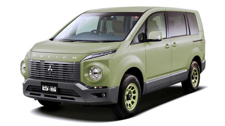 Mitsubishi mostrará en Tokio SUVs Outlander y Delica modificadas