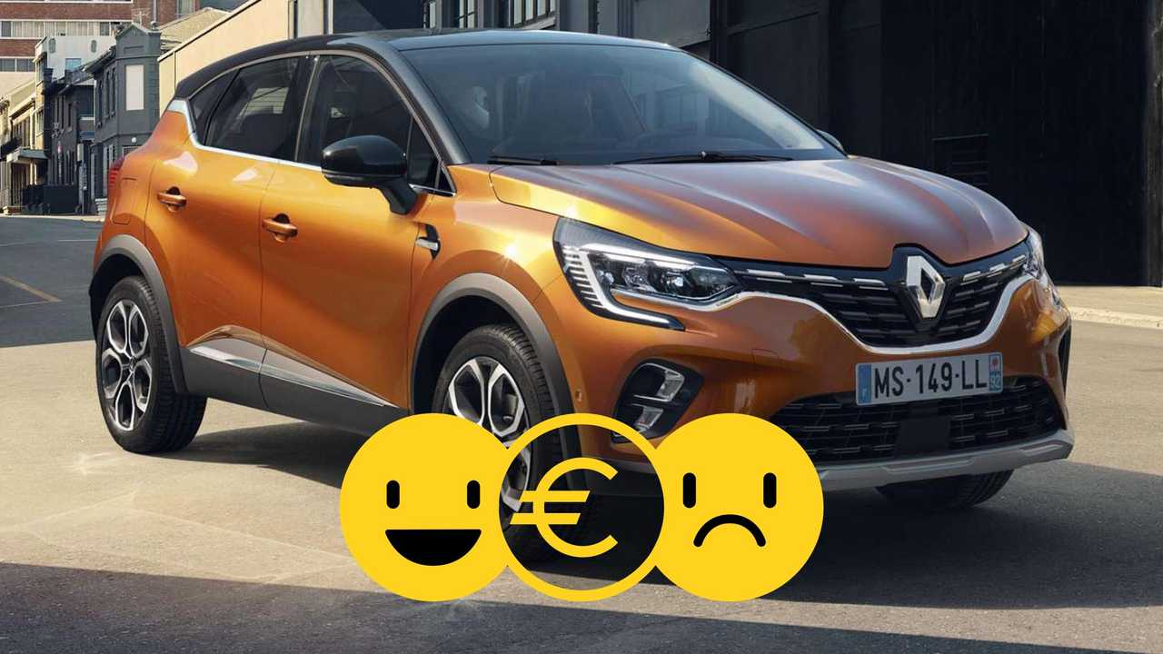 Renault Captur à 179 €/mois