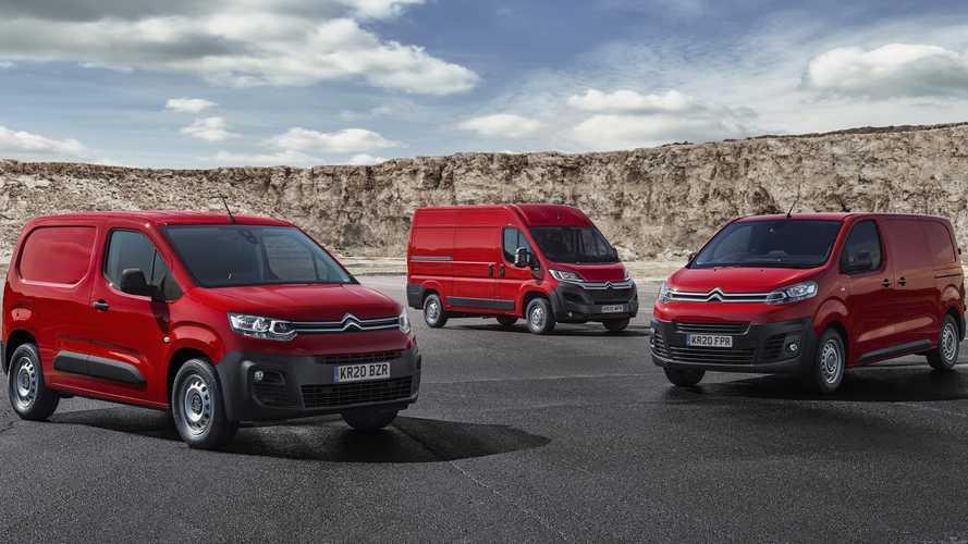 You can get £10,000 towards a new Citroen van