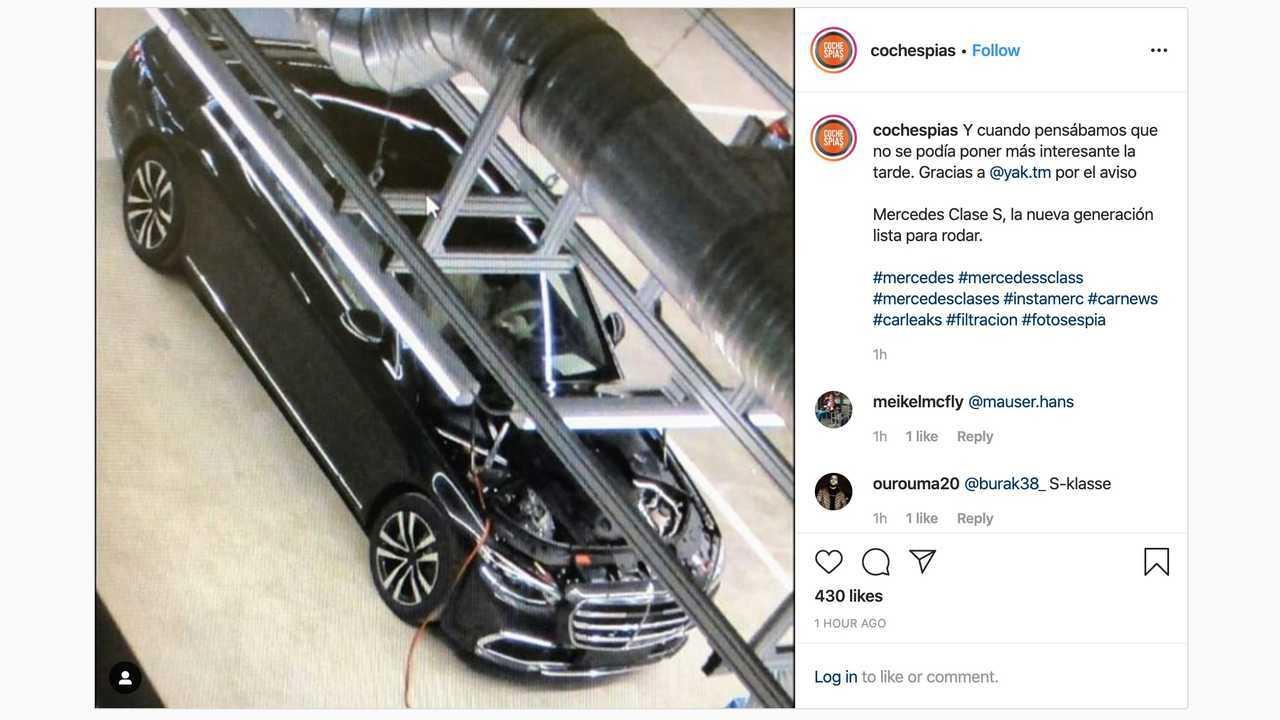 Mercedes-Benz S-Class Spy Photo