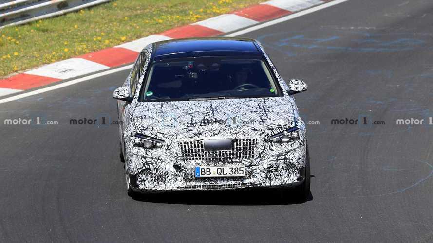 New Mercedes-Maybach S-Class spy photos