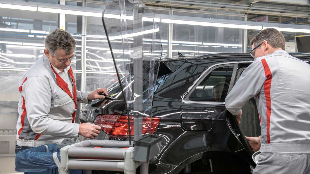 Audi to restart production in Europe