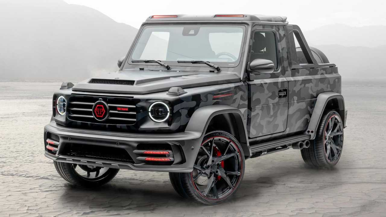 Mansory Star Trooper Pickup Edition Based On Mercedes-AMG G63