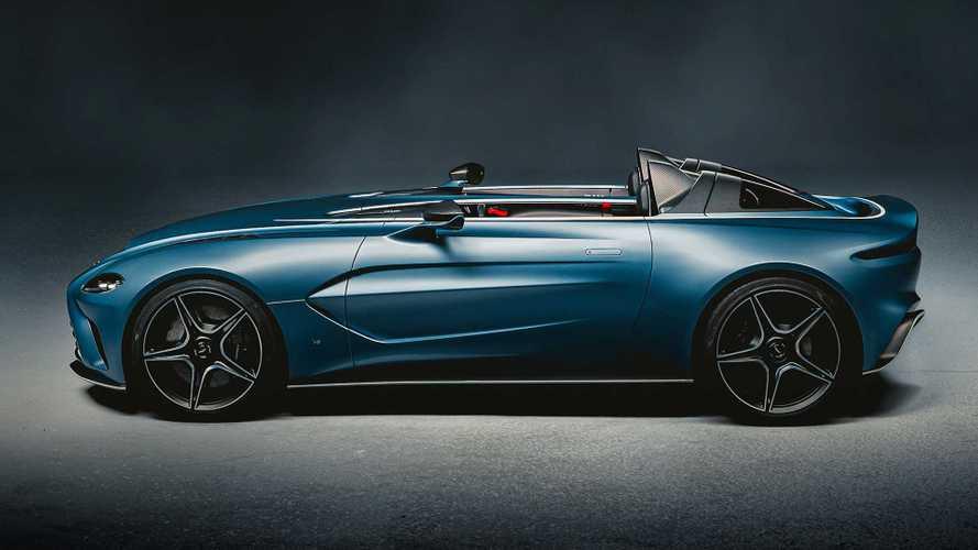 Aston Martin V12 Speedster: Carbon-Flitzer mit extravaganter Karosse