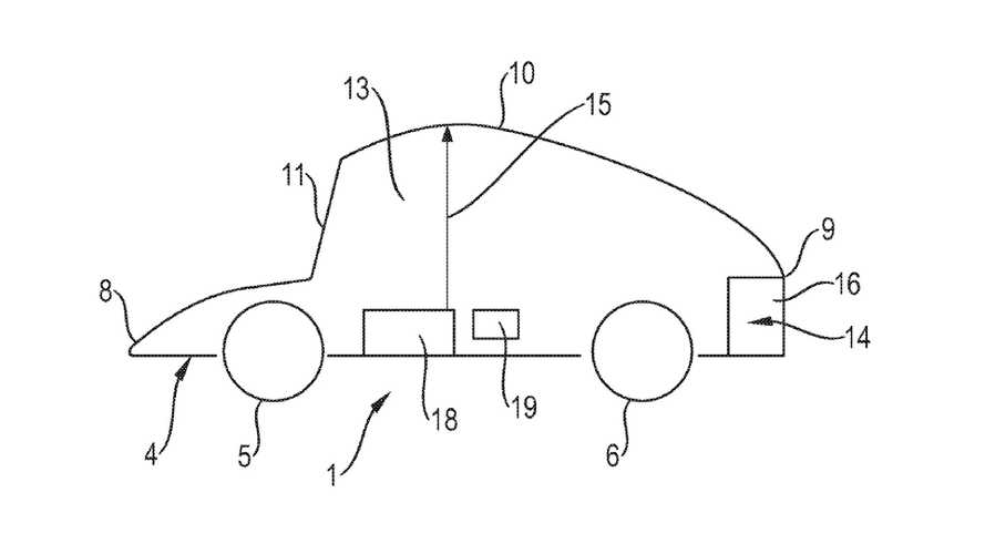 Porsche's Cute Patent Shows Adjustable Roof For Autonomous Cars