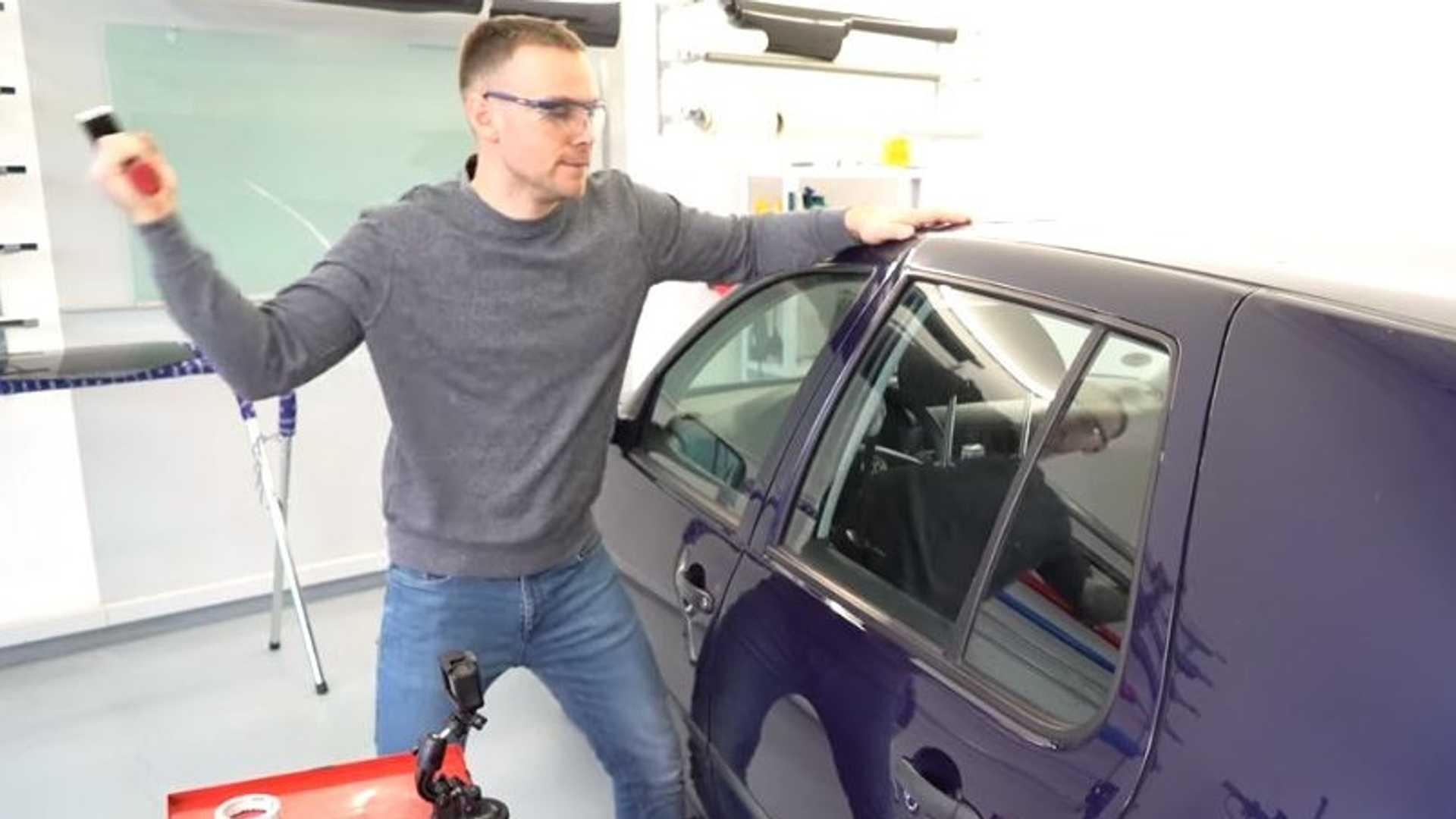 VW Golf Glass Tests
