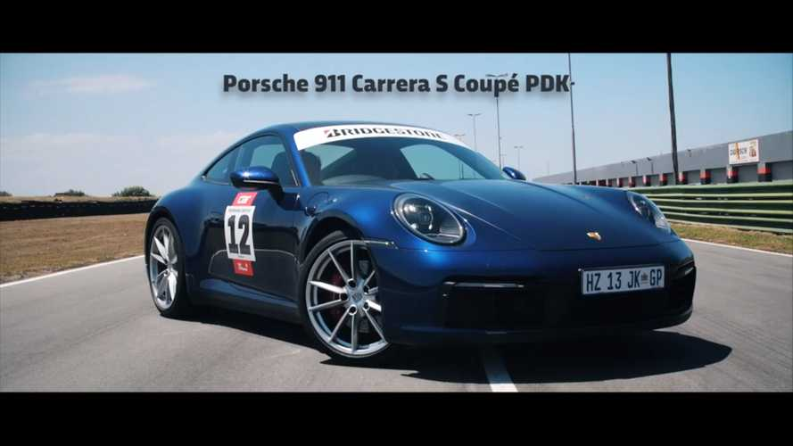 2020 Porsche 911 Carrera 4s vs Mercedes-AMG GT63S race