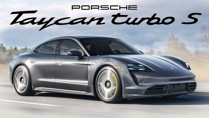 Reviewers Say Porsche Taycan Turbo S Is Video Game Fast