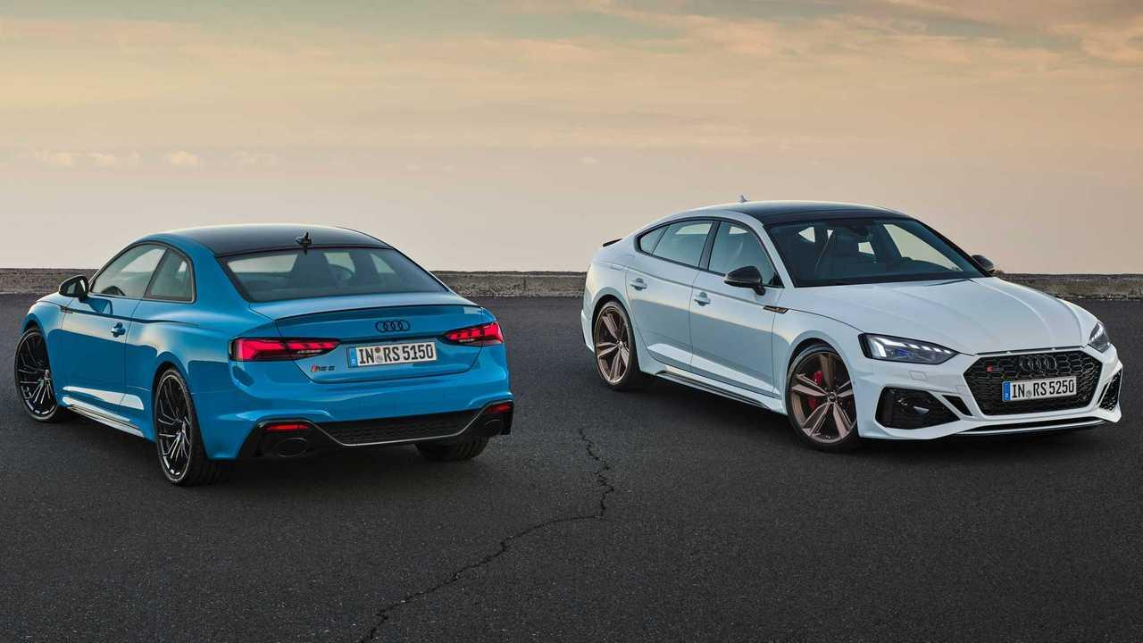 2020 Audi RS5 Coupe, RS5 Sportback makyaj