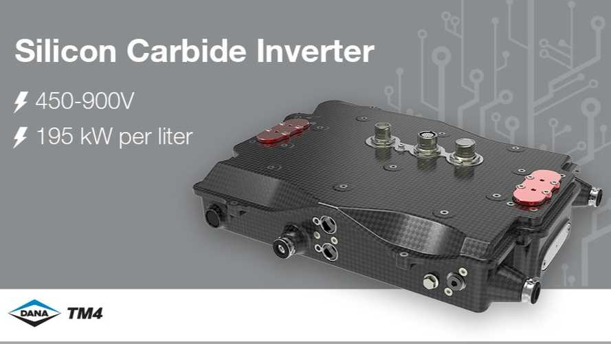 Dana SiC Inverter Offers Up To 195 kW/L At Up To 900 V