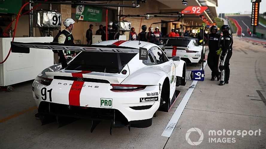 Que fait une équipe comme Porsche pendant le confinement ?