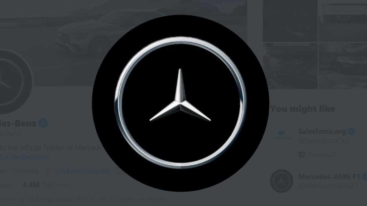 Mercedes Social Distancing logó