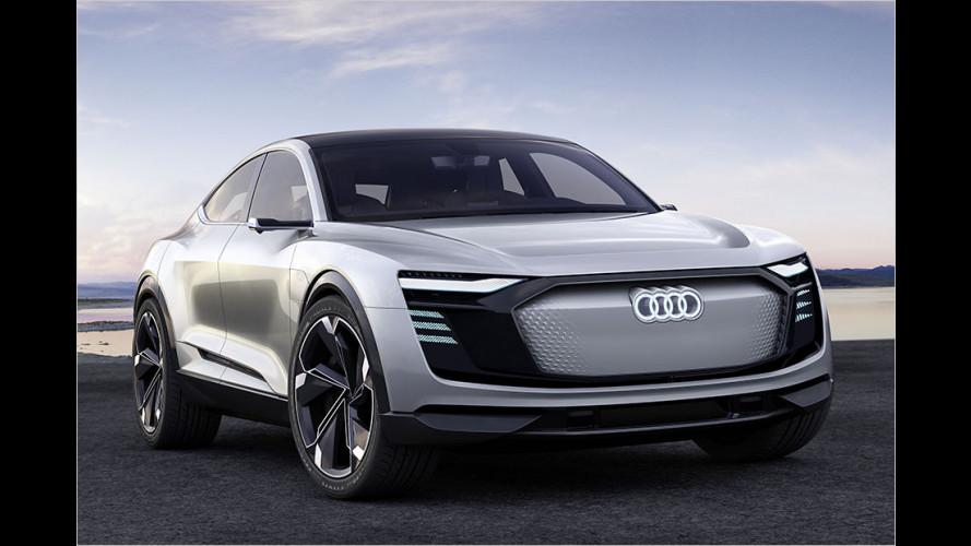 Audi e-tron Sportback Concept: Premiere in Shanghai (2017)