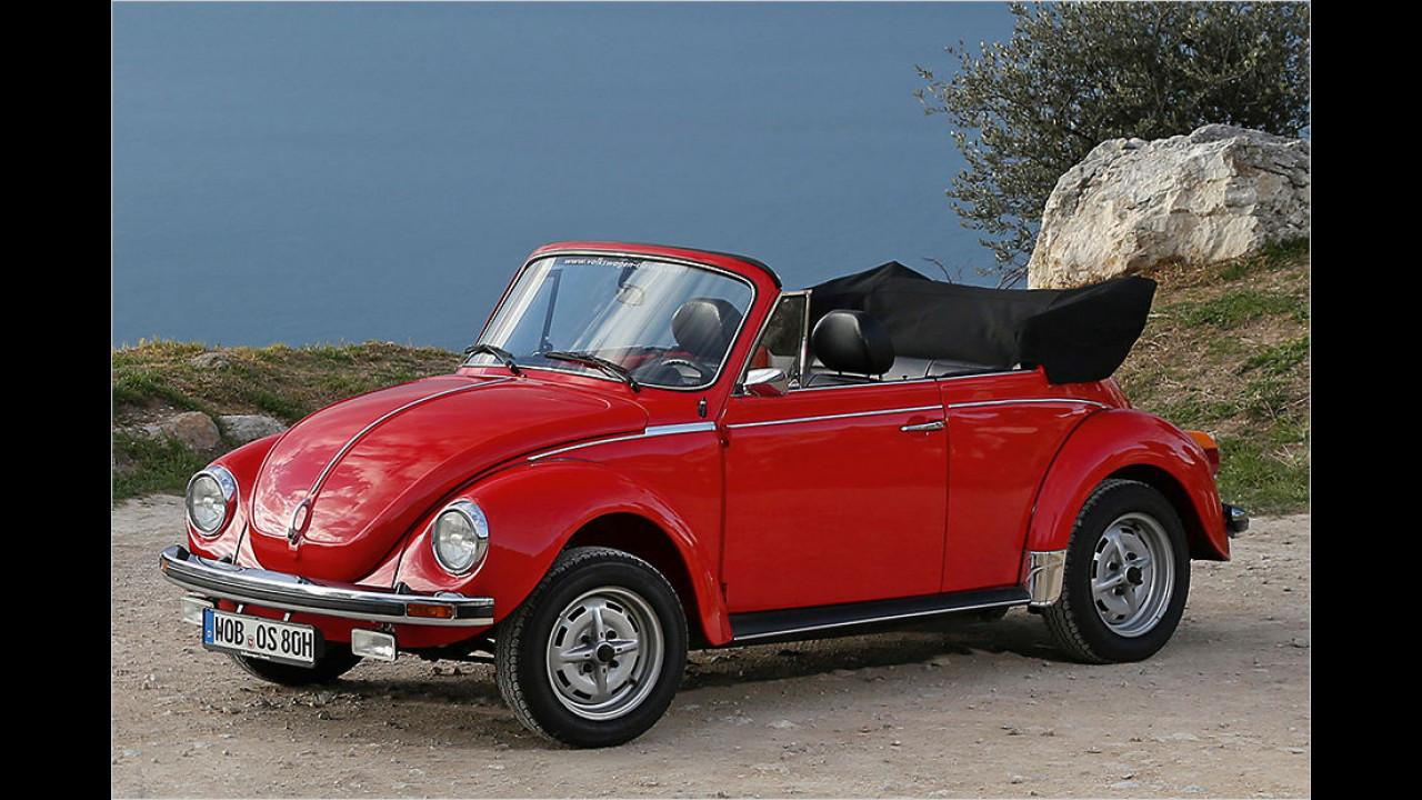 Platz 1: Der VW Käfer mit 34.643 Fahrzeugen