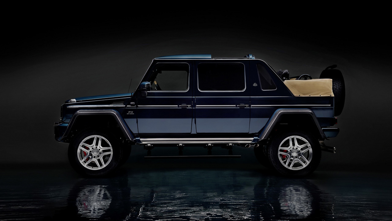 last mercedes-maybach g650 landaulet auctioned for $1.4m
