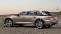 Projeção da Audi A6 Avant 2018