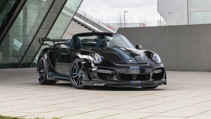 Techart's 711-hp Porsche 911 Turbo Loses Its Roof