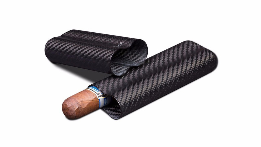 Carbon fiber cigar case