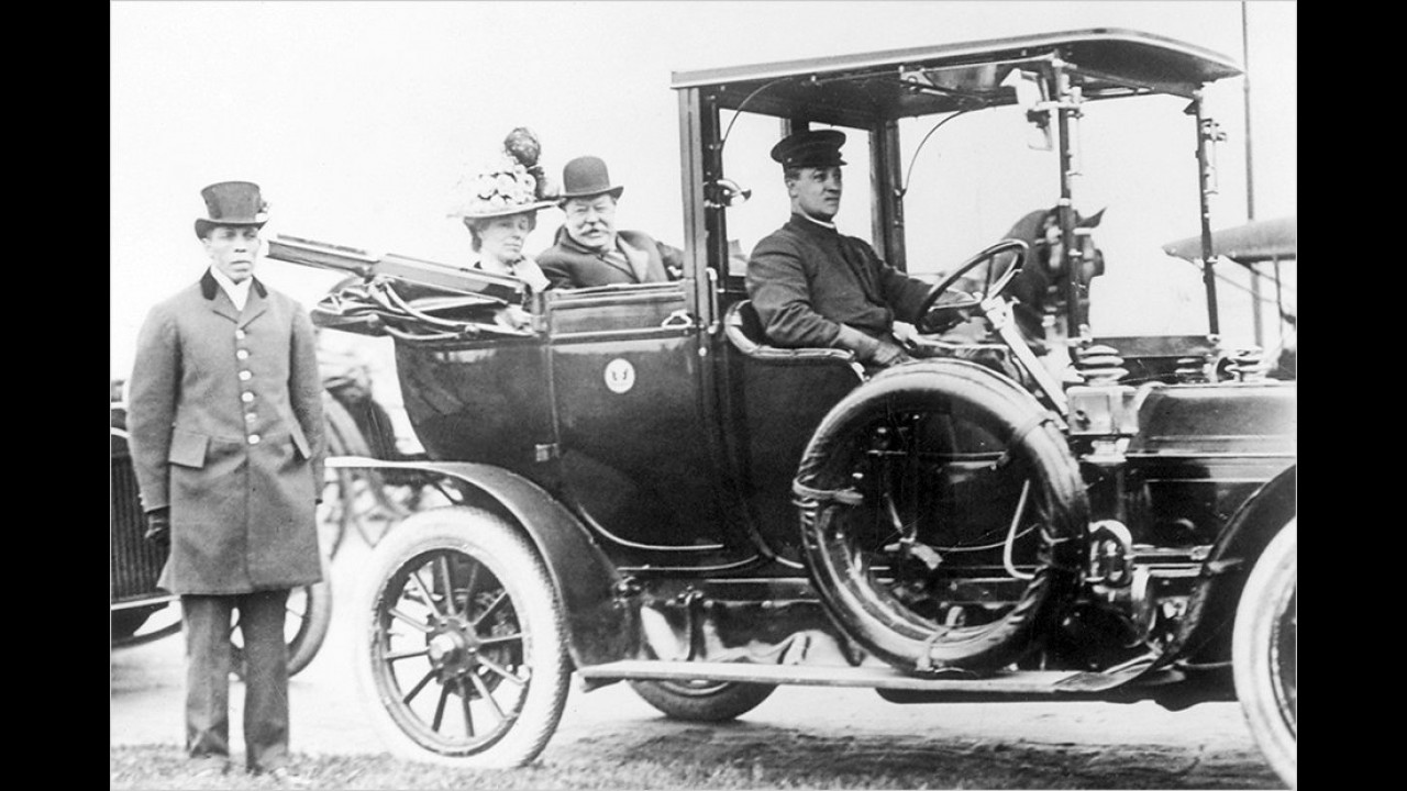 William H. Taft: Cadillac Model G (1907/1908)