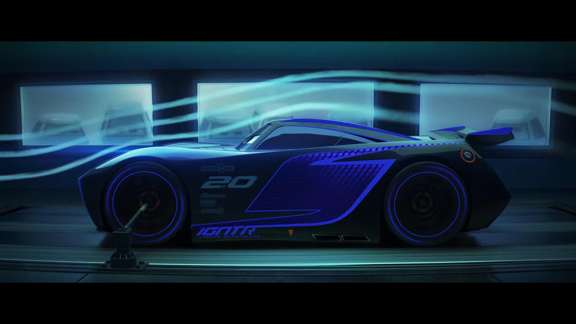 New Cars 3 Trailer Highlights Lightning Mcqueen S 850 Hp Rival