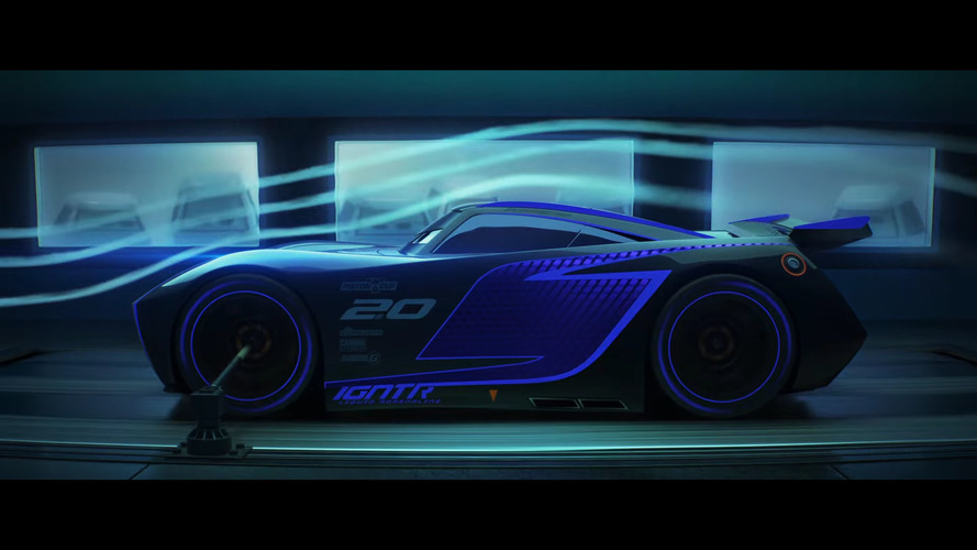 New Cars 3 trailer highlights Lightning McQueen's 850-hp rival Jackson Storm