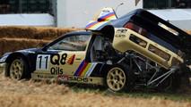 Crash Ford RS200 Evo 2