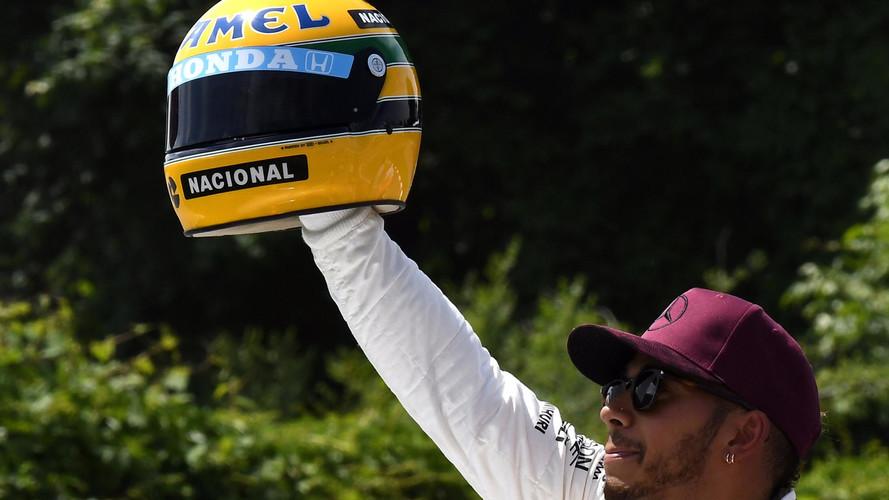 Hamilton: Se dissessem que igualaria Senna, acharia loucura