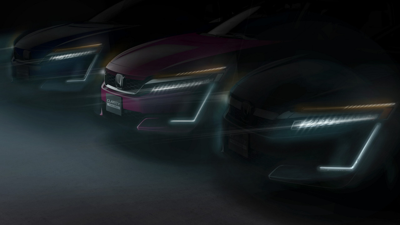 Honda Clarity Plug-in Hybrid ve Clarity Electric teaser