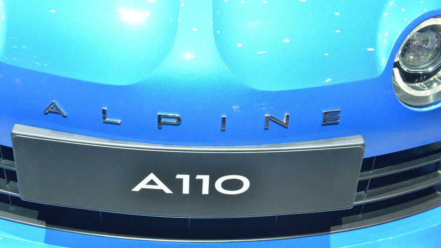 Alpine A110 em Genebra