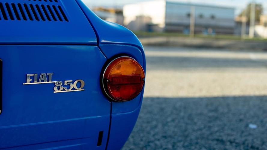 Vídeo: disfruta de este Fiat 850 Coupé, con motor de Kawasaki Ninja