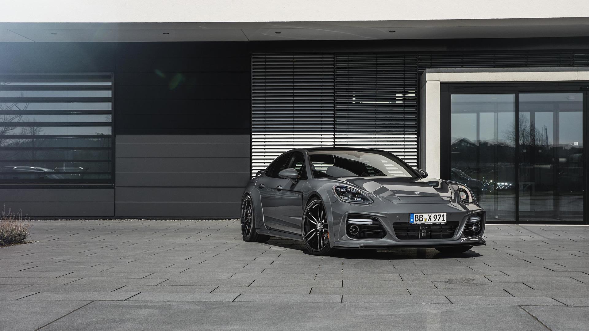 Techarts Porsche Panamera Kit Emphasizes Grand In Gt