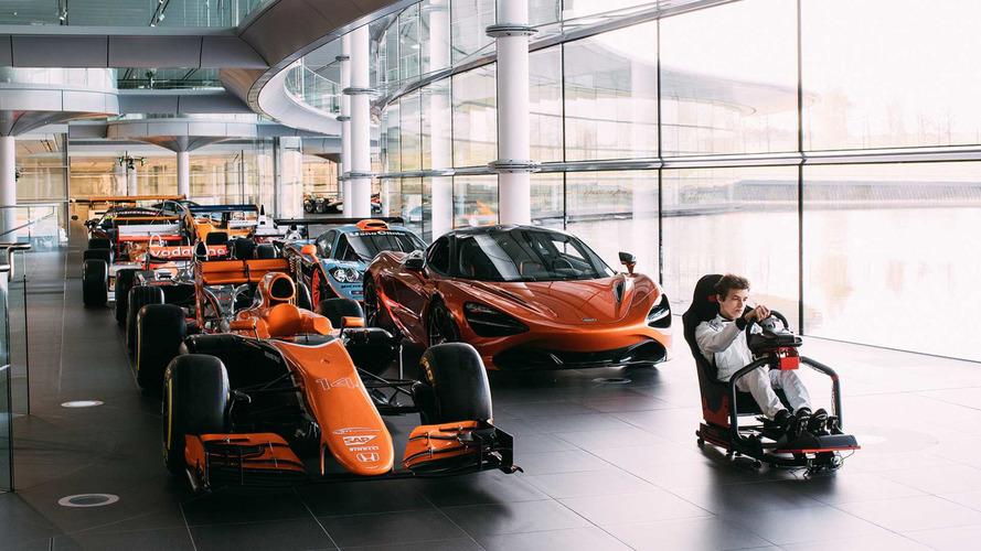 McLaren recherche un pilote pour simulateur