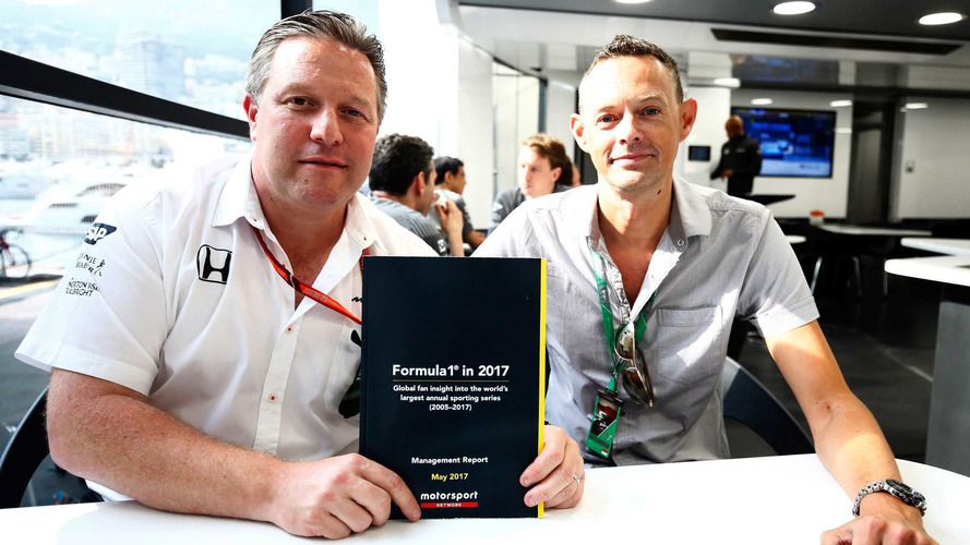 Los resultados de la encuesta global del aficionado de Fórmula 1, presentados en el Gran Premio de Mónaco