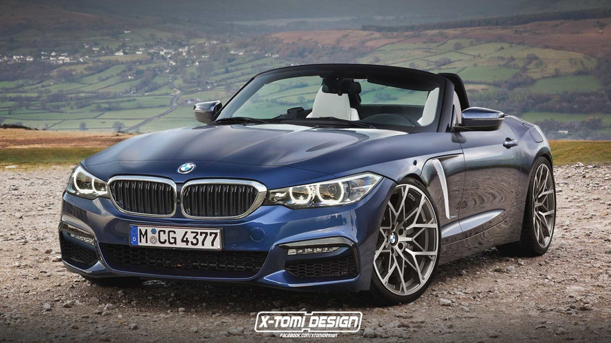 Projeção - Confira como deve ficar o visual do BMW Z4 2018